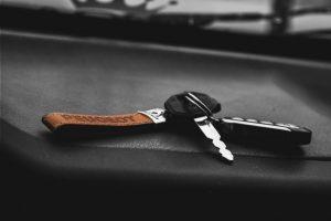 car key replacement keys on dashboard